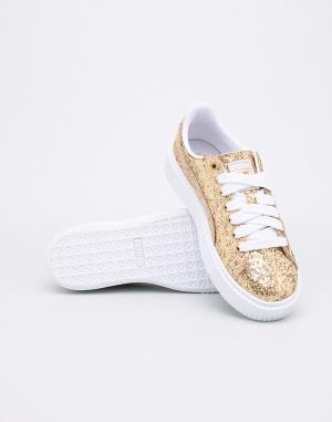 Tenisky - Puma - Basket Platform Glitter