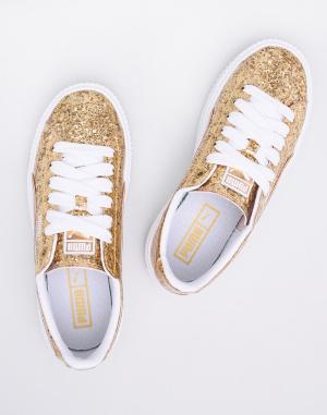 Puma - Basket Platform Glitter