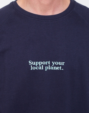 Dedicated  - Sweatshirt Malmoe Planet Support