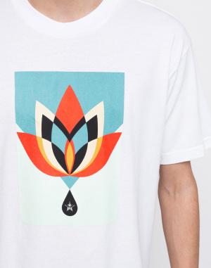 Obey - Geometric Flower