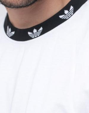 Triko - adidas Originals - Trefoil Rib Tee