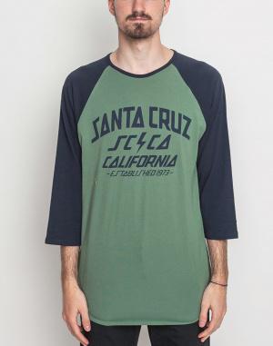 Triko - Santa Cruz - HQ 3/4 Sl Baseball Top