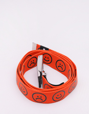 Lazy Oaf - Orange Happy Sad Belt