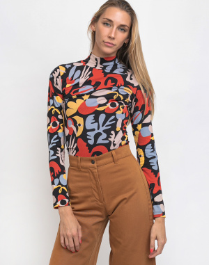 Thinking MU - Dancing In The Space Turtleneck Top...