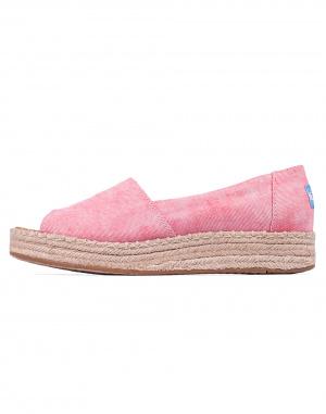 Toms - Open Toe Platform Alpargata