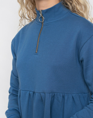 Lazy Oaf - Blue Sally Sweater Dress
