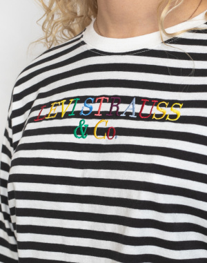 Levi's® - Graphic Long Sleeve Tee Stripe