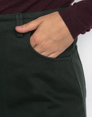 Thinking MU - Green Marsha Short Skirt