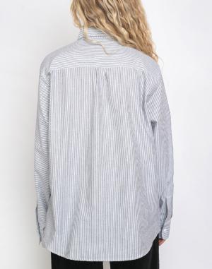 S dlouhým rukávem Rotholz Basic Striped Shirt