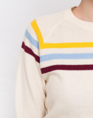 Thinking MU - Stripes Oversized Sweater