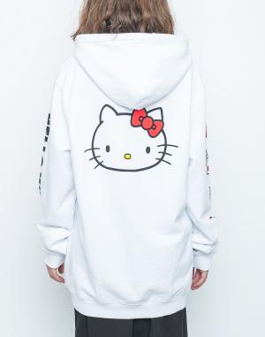 Mikina - Lazy Oaf - Hello Kitty Oversized Hoodie