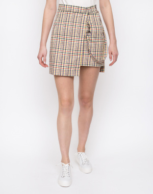 The Ragged Priest - Check Double Layer Mini Skirt