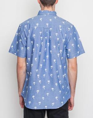 Košile - Dedicated  - AO Short Sleeve Painted Palms