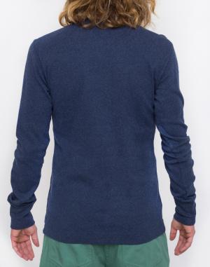 Triko - Knowledge Cotton - Rib Knit Henley