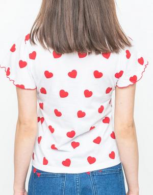 Triko - Lazy Oaf - Red Hearts