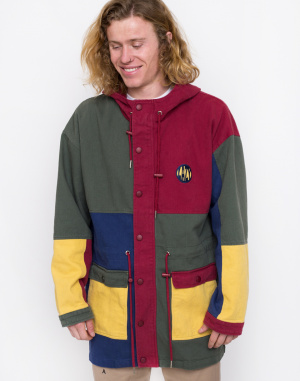 Lazy Oaf - Colour Panel Twill Jacket