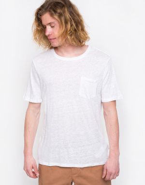 Knowledge Cotton - Single Jersey Linen T-shirt