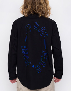 Košile - Carhartt WIP - F. Kuti Half Placket Shirt