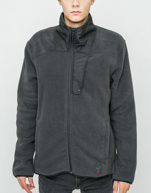 Mikina - Herschel Supply - Fleece Zip Up