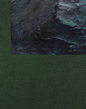 Triko - Knowledge Cotton - Oversized Photo T-shirt