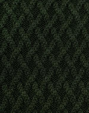 Knowledge Cotton - Small Diamond Knit