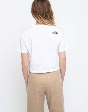 Triko The North Face W Cropped Fine Tee