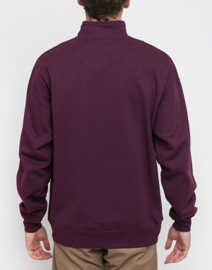 Mikina Polar Skate Co. Zip Neck Sweatshirt