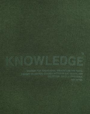 Knowledge Cotton - Fleece Hood Sweat