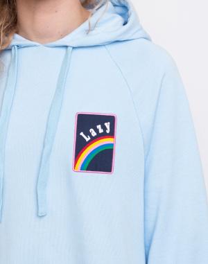 Šaty - Lazy Oaf - Over The Rainbow Hoodie Dress