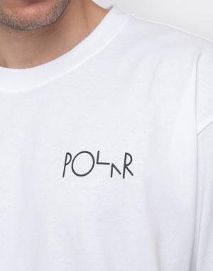 Triko Polar Skate Co. Klez Fill Logo Tee