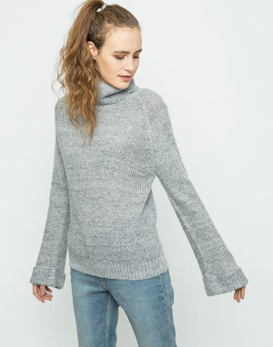 Neon Rose - Turnback Cocoon Knit