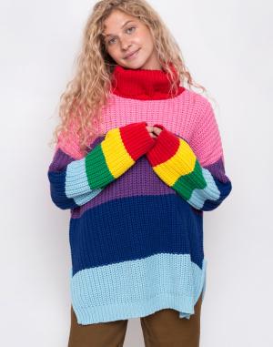 Rolák - Lazy Oaf - Lazy Rainbow Knit Roll Neck