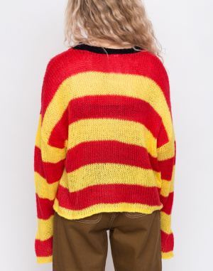 Svetr - The Ragged Priest - Loose Striped Knit