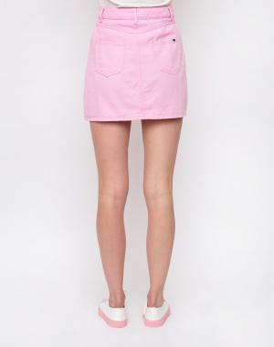 Sukně - Lazy Oaf - Pink Button-Through Skirt