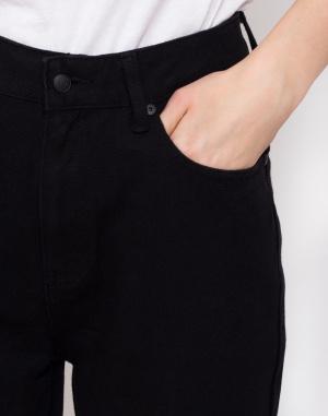 Kalhoty - Lazy Oaf - Black Mom Jeans