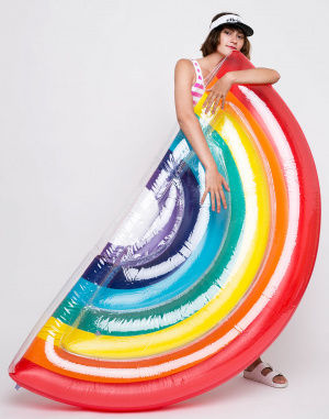 Sunnylife - Luxe Lie-On Float Rainbow