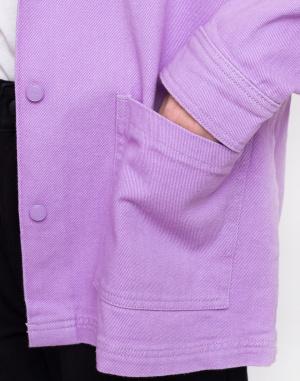 Lazy Oaf - Lilac Chore Jacket