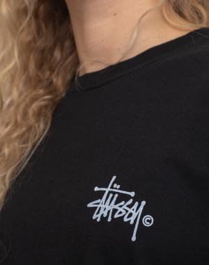 Stüssy - Basic Logo Pig. Dyed Ls Tee