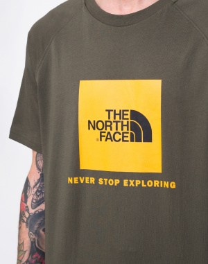 The North Face - Rag Red Box Tee