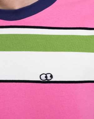 Lazy Oaf - Pink And Green Stripy