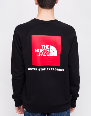 Mikina - The North Face - Raglan Redbox Crew