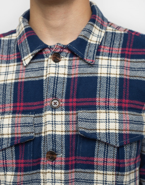 Knowledge Cotton - Big Checked Flannel Shirt