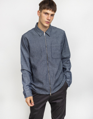 Knowledge Cotton - Strutured Twill Overshirt