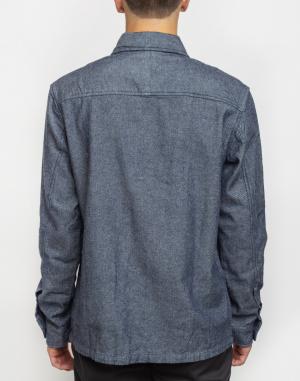 Bunda Knowledge Cotton Strutured Twill Overshirt
