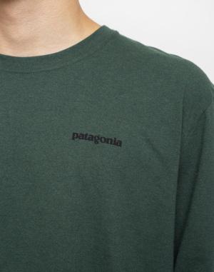 Patagonia - L/S P-6 Logo Responsibili-Tee