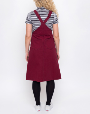 Lazy Oaf - Contrast Stitch Pinafore