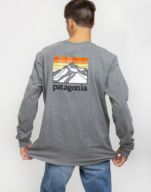 Patagonia - L/S Line Logo Ridge Responsibili-Tee