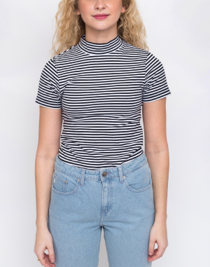 Lazy Oaf - Stripe Fitted