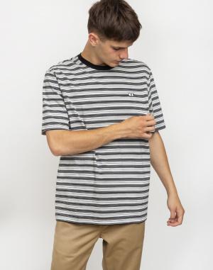 Lazy Oaf - Greyscale Stripe T-shirt
