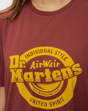 Triko Dr. Martens Lock Up Logo T-Shirt